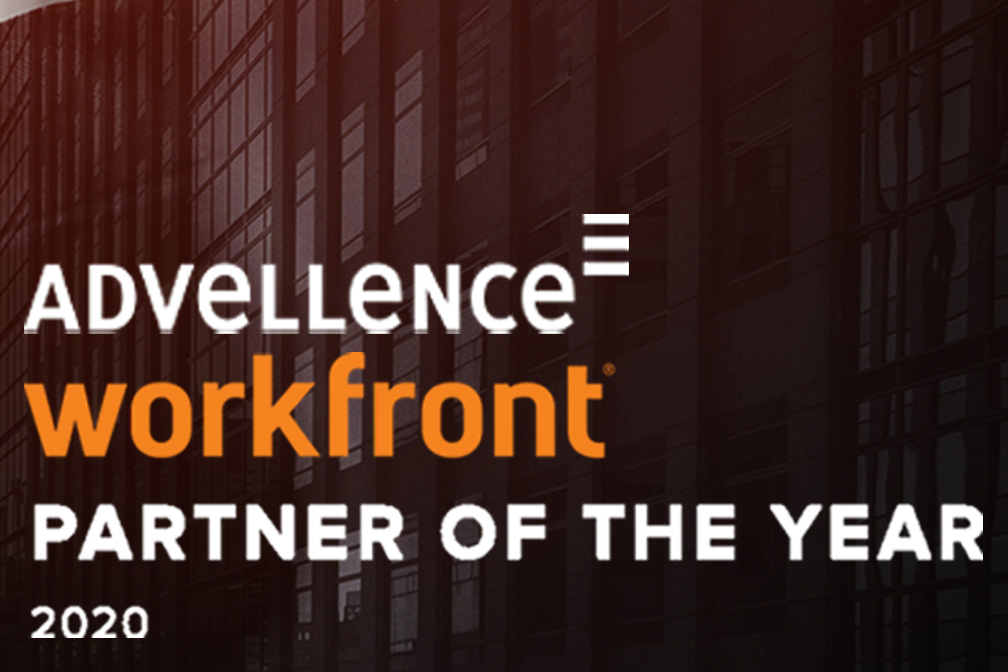 Advellence Workfront Partner oft the Year